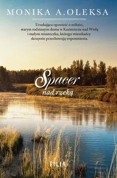 Spacer nad rzeką - Monika A. Books, Decor, Literatura, Languages, Libros, Decoration, Book, Decorating, Book Illustrations