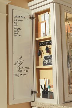 New Great and Easy DIY Kitchen Storage and Organization Ideas Kitchen Organization, Kitchen Storage, Cabinet Storage, Storage Organization, Storage Ideas, Cabinet Ideas, Filing Cabinet, Cabinet Doors, Dish Cabinet
