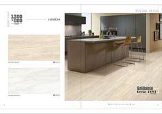 Millennium Tiles 600x1200mm (24x48) Digital Brilliante Recta PGVT Porcelain Floor Tiles Random Series.   - Ruvina Beige  - Safari Bianco