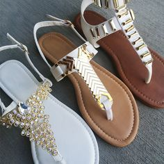 White gold. #gojane #sandals #spring #summer #white #gold #whitegold