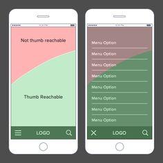 thumb-reachable-menu