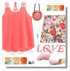 """""""Pink top"""" by fernshadowstudio-com ❤ liked on Polyvore featuring Gucci"""