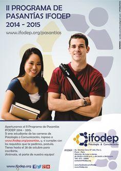 ¡Anímate a postular! Visita: www.ifodep.org/pasantias