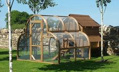 The Fearnley, £1,280: The Taj Mahal for chickens, measuring 8ft by 6ft, it allows your chickens to roam freely, www.framebow.co.uk
