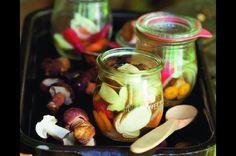 Hříbky v octě Pickles, Cucumber, Vegetables, Food, Essen, Vegetable Recipes, Meals, Pickle, Yemek