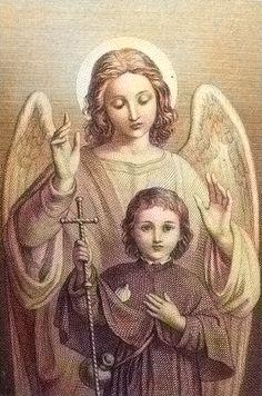 Santo ángel custodio, nuestro fiel compañero en el tiempo y en la eternidad