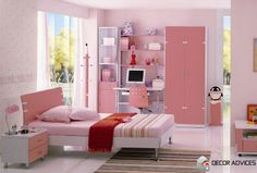 lovely pink kids room design  Creative Ideas For Decoration Of Kids Room