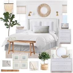 DesignSixtyFive | Master Bedroom | modern coastal boho farmhouse neutral mood board #moderncoastalbedrooms #coastalbedroomsmaster