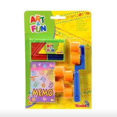 Simba Toys > 3y+ > Art and Fun 2 Way Roller Stamp Set - Blue | Shop Online