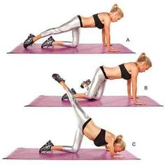 Drop that 10 Inches in 10 Days with These 8 Moves... stretch-bend-kick-400x400