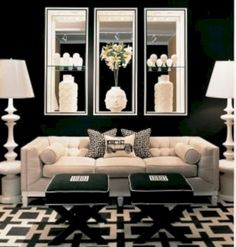 15 Stunning Home Decoration Ideas Inspired by Hollywood Glam https://www.futuristarchitecture.com/33993-hollywood-glam-home-decoration.html