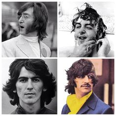 The Beatles 1968 collage
