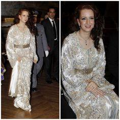 Lalla salma #caftan de #luxe #royal