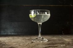 This cocktail, which comes from the Savoy Cocktail Book, adds a touch of absinthe to a traditional martini.