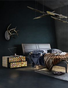 Luxury master bedroom collection by Boca do Lobo| Boca do Lobo, master bedroom furniture, bedroom decoration, contemporary nightstand|for more inspirations or amazing pictures check: http://www.bocadolobo.com/en/inspiration-and-ideas/