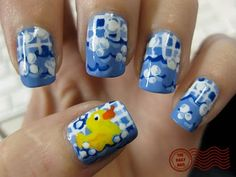 The Daily Nail: Rubber Ducky, You're the One...