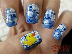 The Daily Nail: Rubber Duck #nail #nails #nailart