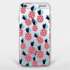 Custom Phone Case Red Pineapple