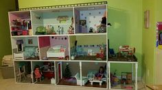 American girl walk in closet.  Follow my dolls house ideas on pinterest for more inspiration