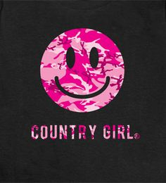 Country Girl Smiley Face