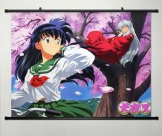 Home Decor Anime Cosplay Inuyasha Sesshomaru Wall Scroll Poster 23.6 x 17.7 Inches-020