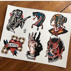 Flash by @jordanspeer #trflash#traditional_flash#tattoo#tattooflash#traditional#traditionaltattoo#traditionalflash#tattooart#flash#art#illustration#drawing