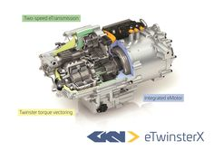 "GKN Drivelines introduces off-the-shelf torque-vectoring eAxle    Last week we saw Bosch reveal its ""e-axle"" off-the-shelf"" electric powertain solution for automakers who don't have the means or inclination to develop their own. Now another company is   http://www.motorauthority.com/news/1112693_gkn-drivelines-introduces-off-the-shelf-torque-vectoring-eaxle"