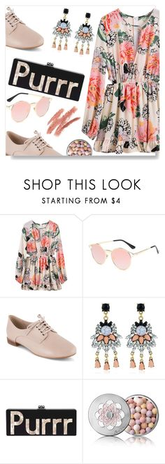 """""""Light Pink Style"""" by simona-altobelli ❤ liked on Polyvore featuring Clarks and Guerlain"""