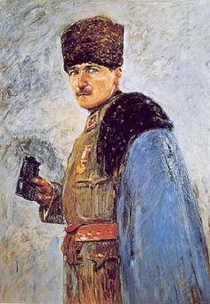 Nazmi Ziya Güran Atatürk Kurtuluş Savaşı Turkish War Of Independence, Plein Air Easel, Oil Painting Pictures, Turkish Art, Sculpture Painting, Colorful Pictures, Portrait Art, Mosaic Art, Impressionist