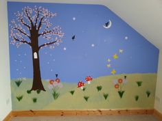 Fairy Land Feature Wall Fairy Land, Spaces, Creative, Wall, Painting, Inspiration, Design, Home Decor, Biblical Inspiration