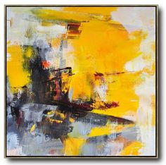 Palette Knife Contemporary Art #L45A #acrylic-painting #Contemporary #Leo-Chun