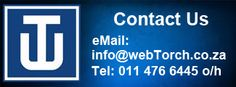 Contact webTorch for all your website solutions catering for small to medium size businesses. Get noticed online!