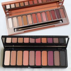 A matte dupe for the urban decay naked heat palette! Elf mad for matte palette