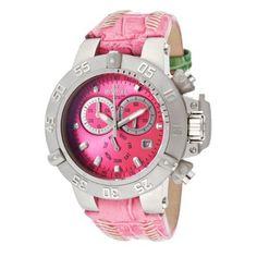 Invicta Women's 11623 Subaqua Chronograph Dark Pink Dial Pink Leather Watch Invicta,http://www.amazon.com/dp/B007HNC010/ref=cm_sw_r_pi_dp_sS2WrbC41E184796