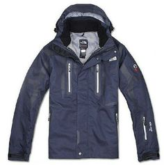 North Face Men Light Mountain Triclimate Jacket Waterblue