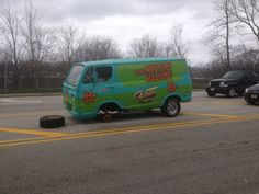 Mystery Machine - the mystery is how the heck this happen!  Run Roh!  Volo Auto Museum, Volo, IL.   www.volocars.com