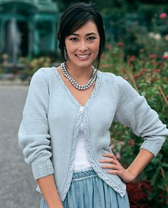 Ravelry: Cable Edge Cardigan pattern by Betsy Westman