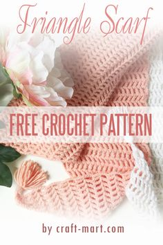Are you looking for a free crochet pattern for a quick and easy crochet triangle scarf? We have a free pattern and an easy-to-follow step-by-step tutorial to help you finish your crochet project just in time for your next travel adventure.