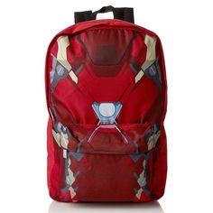 Civil War Iron Man  Torso Backpack. Iron Man BackpackRucksack  BackpackSchool BagsSchool StuffBackpacksDisneylandCouponSuperheroesSchool  Supplies b37a881c84815