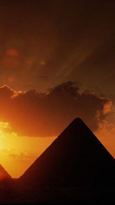 sunset-pyramids