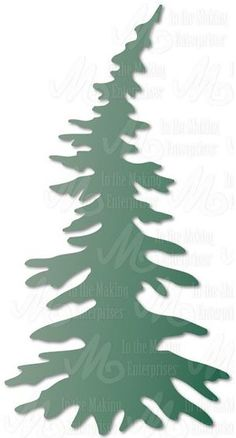 Dee's Distinctively Dies – Pine Tree Small - Holzarbeiten Christmas Wood, Christmas Holidays, Christmas Crafts, Christmas Decorations, Kiefer Silhouette, Preschool Crafts, Diy Crafts For Kids, Tree Outline, Pine Tree Silhouette