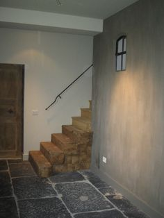 Beautiful Staircase & Floor
