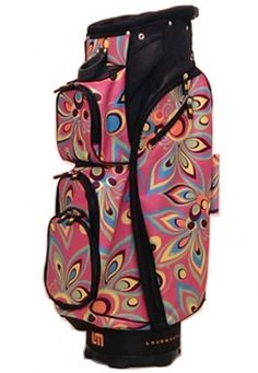 I found this at Pink Golf Tees! Loudmouth Shagadelic Pink Golf Bag