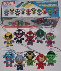 Marvel twisty heads from 2013.