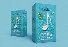 Разработка дизайна упаковки морской соли