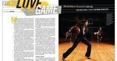 DIII Athletics Magazine Layout | Graphic Design | Pinterest | It ...