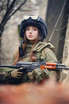 You're at war and you saw her, what will you do?