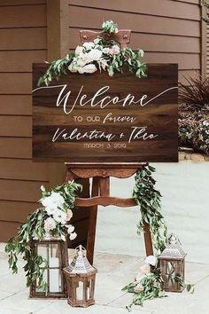 New Rustic Wedding Decoration Ideas #rustic