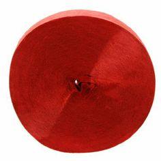 Le rouleau de papier crépon rouge 5.18 euros les 152 m
