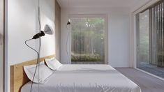 Arkitektkontor i Stockholm - EHA Emelie Holmberg Arkitektur Scandinavian Architecture, Sheltered Housing, Wooden Houses, Sleep, Spa, Timber Homes, Wood Frame House, Log Home, Craftsman Style Homes